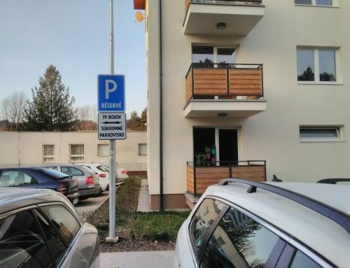Považská Bystrica 2019 – súkromné parkovisko