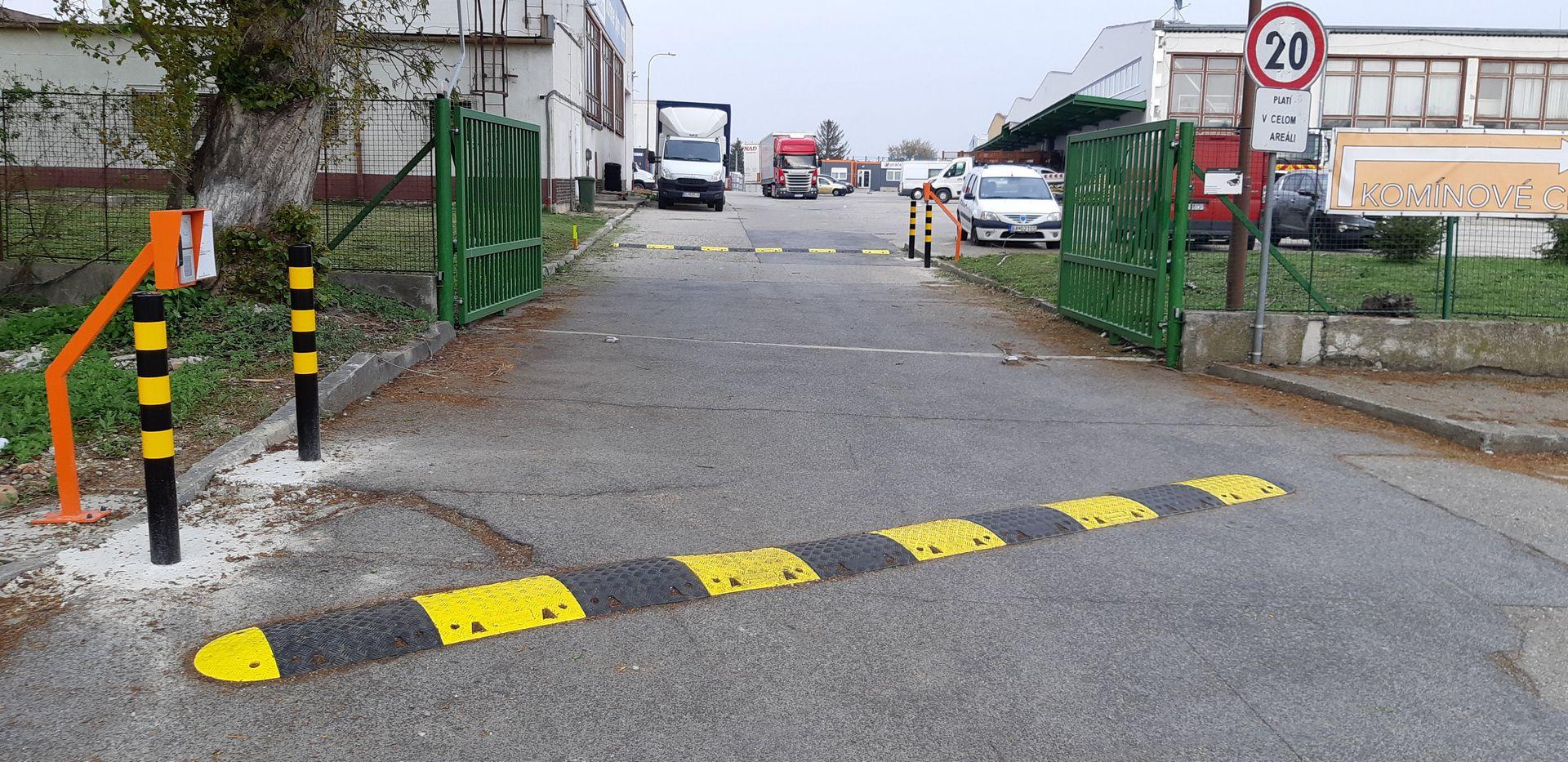 Spomaľovací prah a zábrany, Bratislava 2019